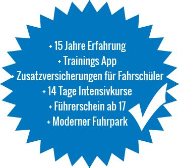 Motorrad Versicherung Erfahrungen by Fahrschule Schult Pkw Motorrad Boot Anh 228 Nger Ab 17