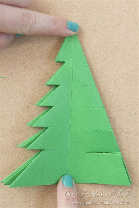 arbol de navidad con papel arbolitos de navidad de origami gu 237 a de manualidades