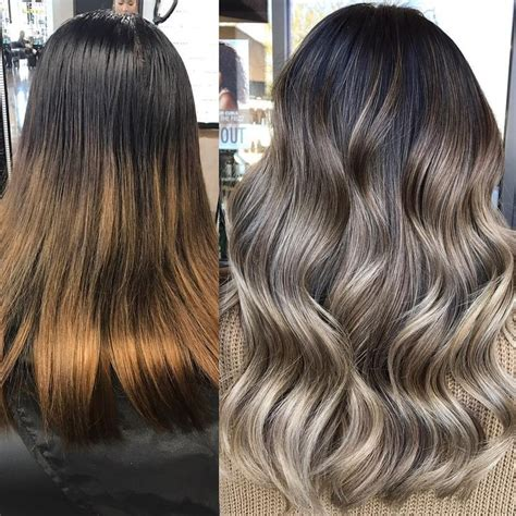 shooing after balayage 25 best ideas about ash blonde balayage sur pinterest