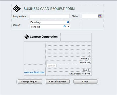 business card request form template business card request form image collections business