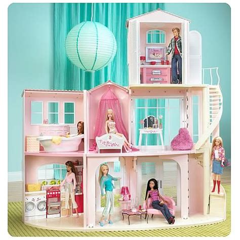 barbie dream house dolls house playset barbie 3 story dream house playset mattel barbie playsets at entertainment earth