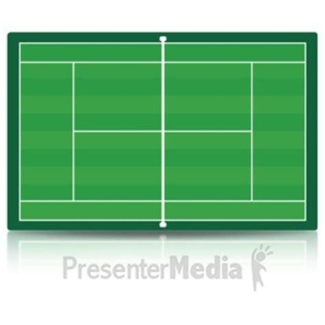 tennis court template basketball court a powerpoint template from