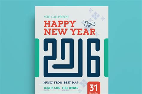 new year posters 2016 new year 2016 poster template 28 images 2016 new year