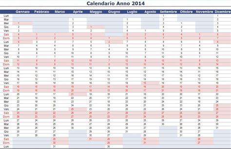 Anno 0 Calendario Calendario 2014 Excel Imagui