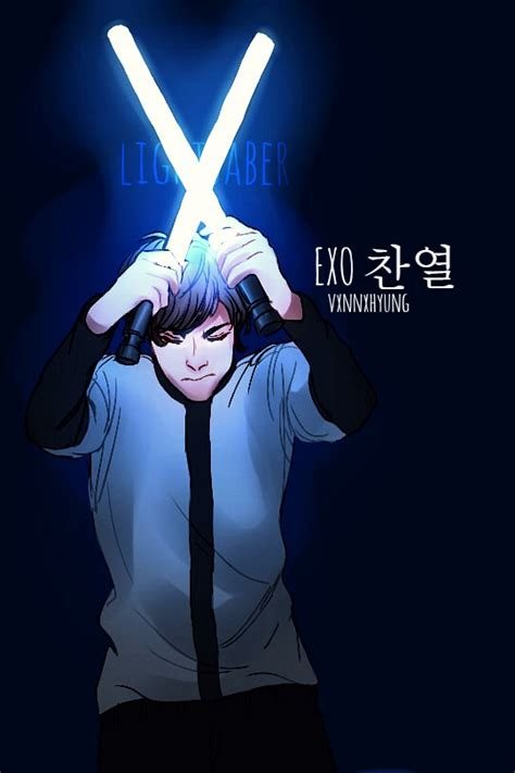 wallpaper exo lightsaber exo chanyeol lightsaber by hatarichan on deviantart