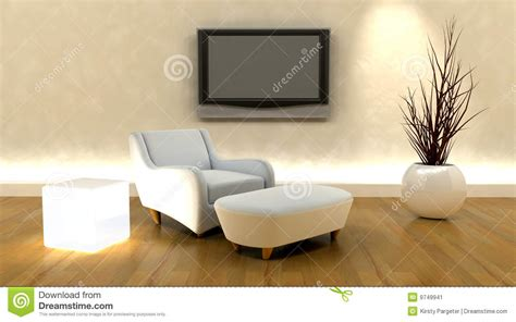 Sofa And Tv by 3d Render Of Sofa And Tv Stock Image Image 9749941