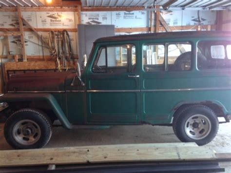 1960 jeep wagoneer find used 1960 willys jeep runs clean 4x4 works