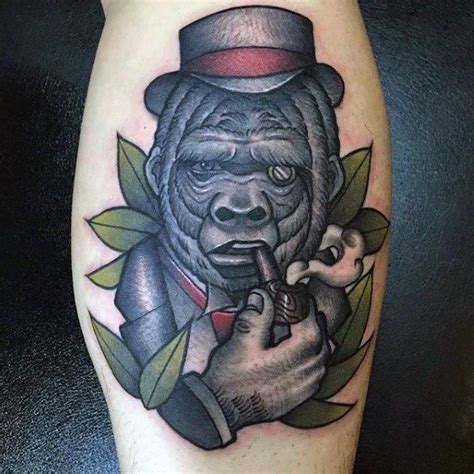 tattoo cigars 17 best gorilla a cigar images on