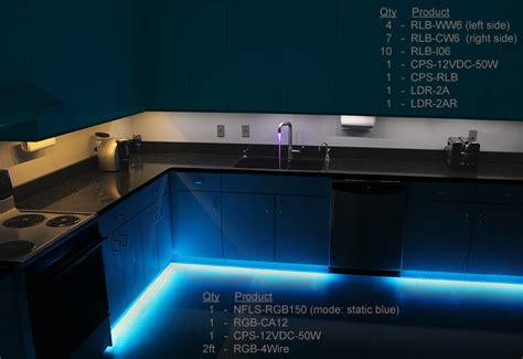 kitchen led light bar ldrf wrgb3 weatherproof rgb controller w rf remote