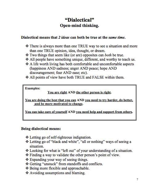 Dialectical Behavior Therapy Worksheets by Dialectical Behavior Therapy Great Worksheet Therapy