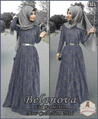 Termurah Gamis Syari Belanova Harga Baju Gamis fashion remaja aprilgescraft