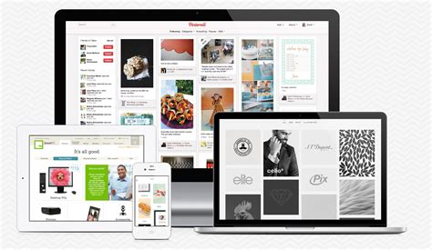 pinterest app layout the influence of pinterest on design trends 2013 savvycom