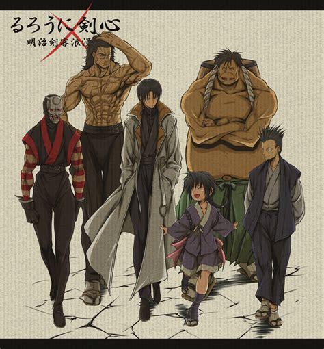 imagenes comics japoneses oniwabanshu rurouni kenshin pinterest dibujo japones