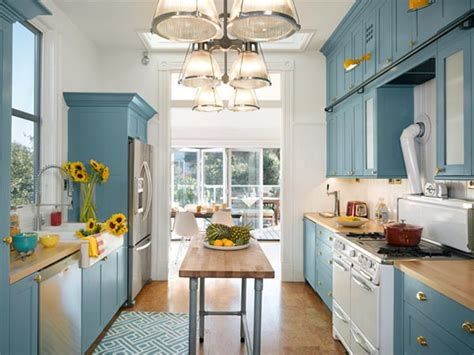 island for galley kitchen a girl can dream can t she 20 cool kitchen island ideas hative