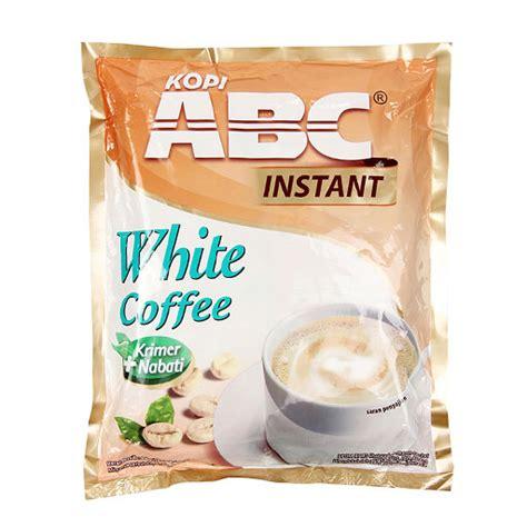 Abc White Coffee kapal api abc white coffee