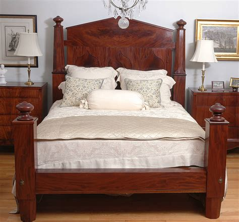 empire bedroom set american empire bed in mahogany adapted to queen size c 1840 at 1stdibs