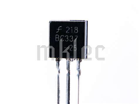 transistor bc337 equivalente equivalent transistor to bc 337 28 images bc337 40 npn transistor to92 45v pack of 10