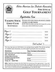 Golf Registration Form Template by Registration Quotes Like Success
