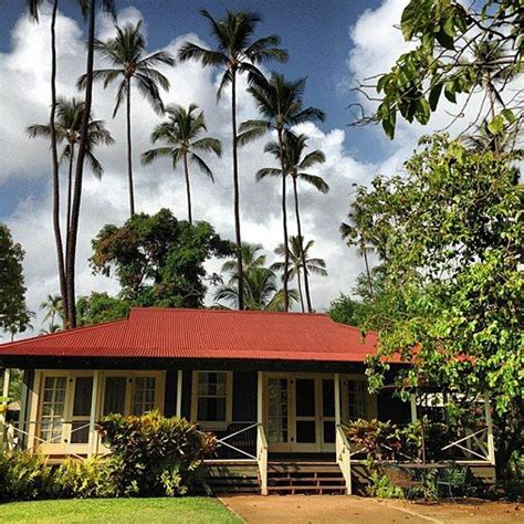 cottages in kauai plantation style homes cottages and note on