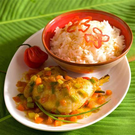 cuisine antillaise colombo de poulet 28 images recette