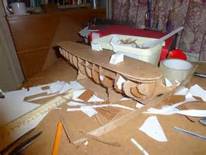 Cardboard Model Boat Template by The Of Gordon How To Make A Model Frigate