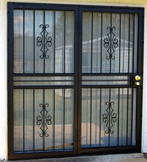 Security Door For Sliding Glass Door Patio Security Doors Security Doors For Sliding Glass Doors My Home Style