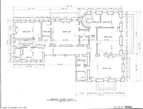 floor plans robert a grinnan house new orleans louisiana