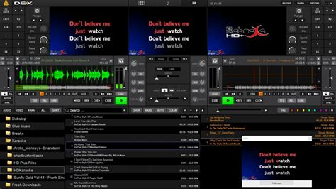 karaoke mode for youtube download dex 3 dj and video mixing software for pro djs pcdj