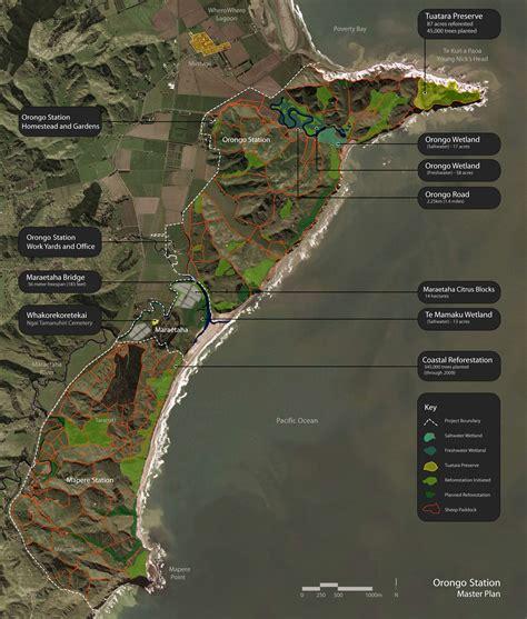 Landscape Architecture Ecological Restoration Master Plan Of The Maraetaha River Floodplain