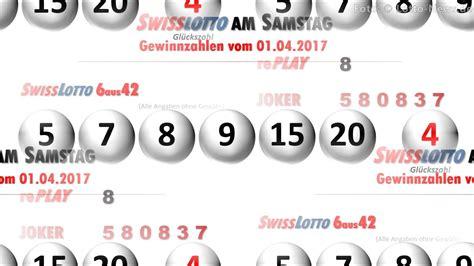 wann ist swiss lotto ziehung swiss lotto ziehung am samstag 6 aus 42 lottozahlen vom