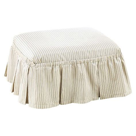 stripe slipcover sure fit ticking stripe slipcover