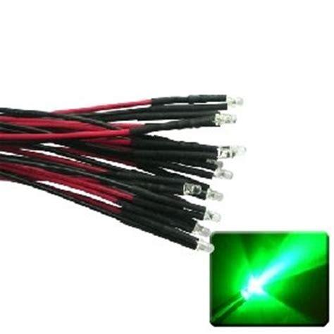 12 volt led lights amazon amazon com qty 10 led lights 3mm pre wired 12 volt leds