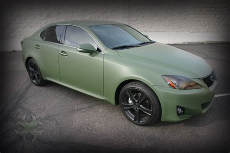 green lexus luxury cars matte green lexus vinyl wrap vehicles