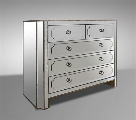 Mirror Dresser by Dawson Mirrored Dresser