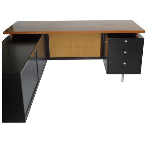 george nelson l a george nelson for herman miller executive l shaped desk