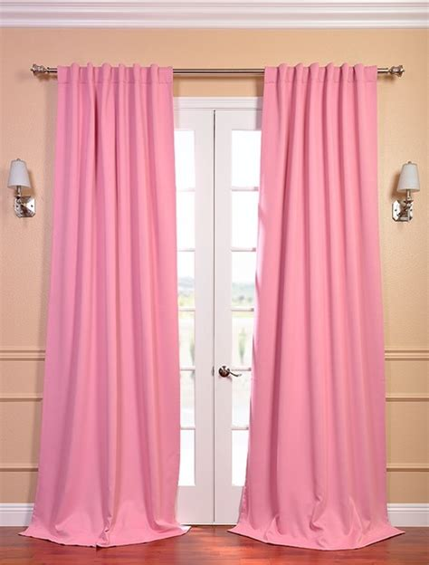 pink black out curtains precious pink blackout curtain contemporary curtains
