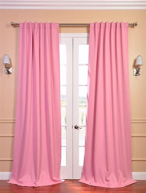 Drapes Window Treatments precious pink blackout curtain contemporary curtains
