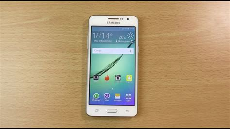 samsung galaxy grand prime official android  lollipop review youtube