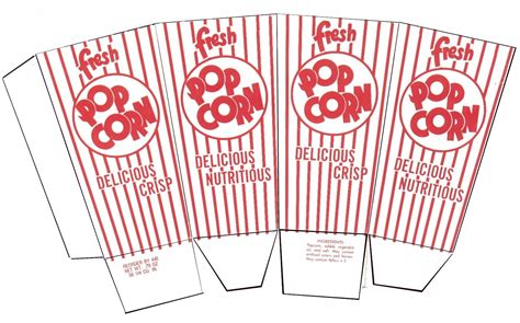 How To Make A Paper Popcorn Box - how to make doll popcorn small dolls in a big world