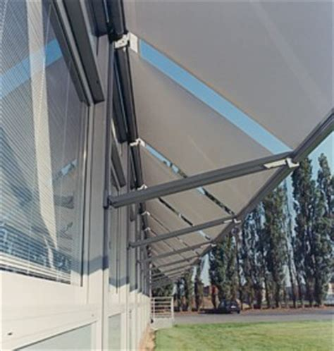 Drop Arm Awning by Commercial Drop Arm Awnings Markilux Awnings From