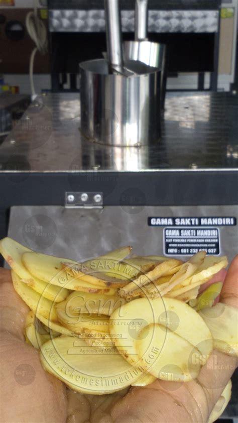 Alat Pengiris Bawang Goreng Otomatis mesin perajang singkong serbaguna toko mesin madiun