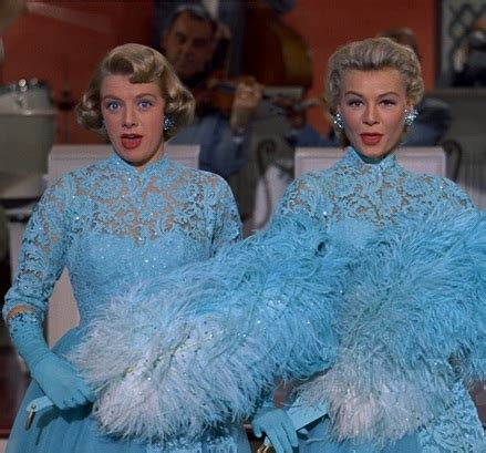 rosemary clooney white christmas costume rosemary clooney s quot white christmas quot costume blue lace