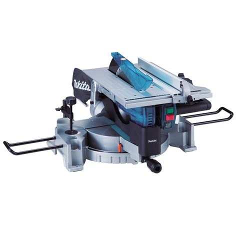 bench chop saw makita lh1200fl combination table mitre saw 305mm 110v