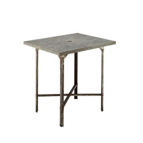 home styles outdoor high patio dining table 5670 35