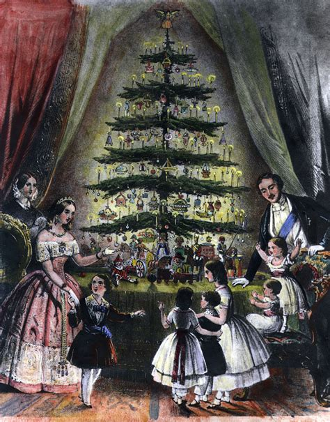 history of christmas traditions in the 19th century