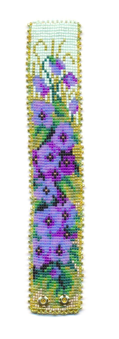 bead loom flower patterns 17 best images about b did bracelets flatwork peyote