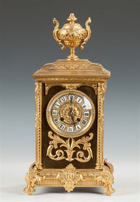 gilt bronze shelf clock