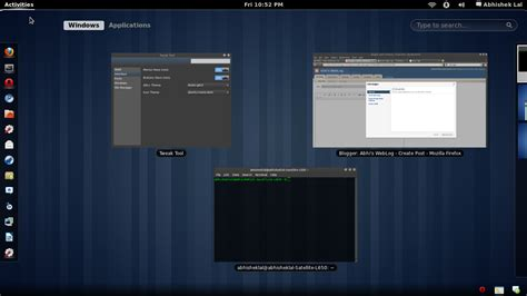 Themes Gnome 3 | abhiz web log gnome 3 themes how to install gnome 3 gtk