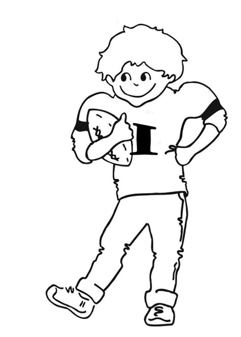 Nfl Football Coloring Pages Az Coloring Pages Nfl Color Number