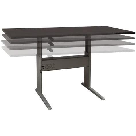 used adjustable height desk ergotech used 30x72 adjustable height table